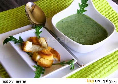 Krémová polévka z rukoly