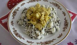 Kuře na kari se zázvorem, čočkou a rýží