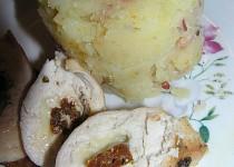 Kuřecí prsa plněná mozzarellou a sušenými rajčaty