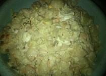 Můj těstovinový salát s kuřecím masem
