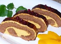 Perníková roláda s karamelovým krémem