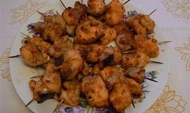 Rybí  kousky v paprikové marinádě