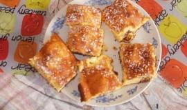 Tvarohový švédský koláč