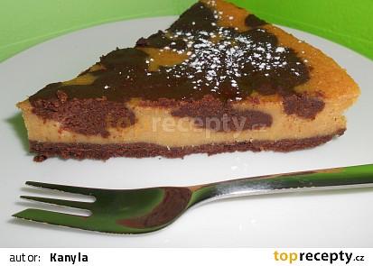 Čokoládovo-dýňový cheesecake