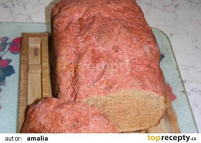 Chléb s červenou řepou/ Cviklový chlieb