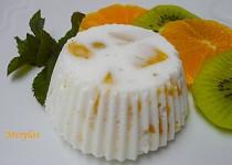 Dietní i dia nepečené tvarohové bábovičky s ovocem