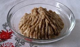 Domácí kaštanové pyré