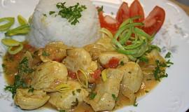 Indické - Butter chicken