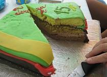 Korpus na dort (ořech)