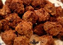 Masové kuličky s kokosem