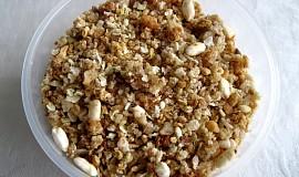 Oříškovo-medové müsli bez lepku a mléka