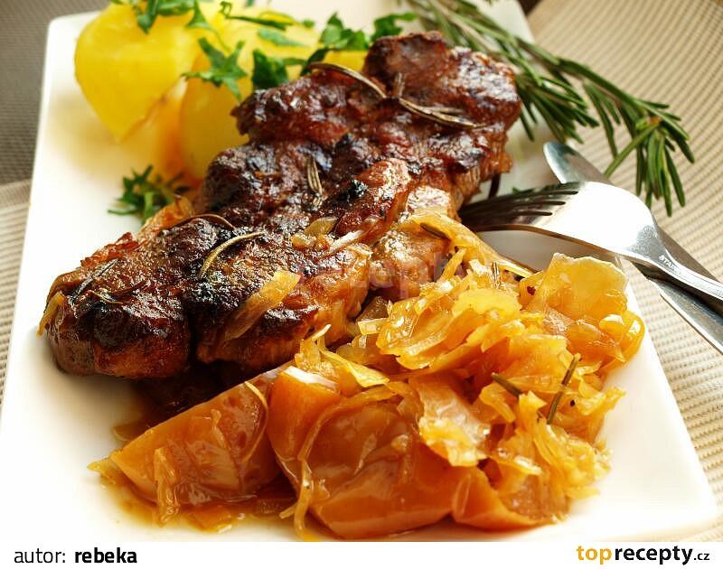 Zdravo pečená krkovička (fotorecept) - recept | Varecha.sk