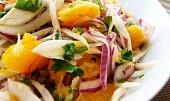 Pomerančovofenyklový salát