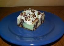 Pudinkový koláč dvou chutí