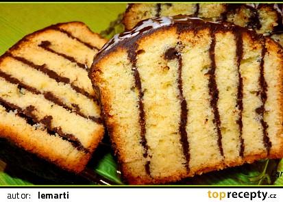 Řezaný čokoládový koláč