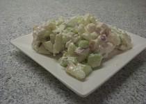 Salát z kuřecích prsíček