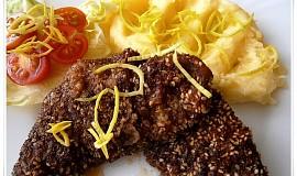 Smažená sezamová slezinka