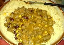 Srdíčkovo-žaludkový guláš ala Mexiko
