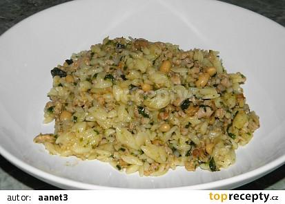 Těstovinové rizoto