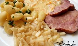 Uzené maso dušené v celeru