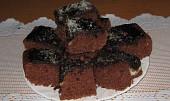 Výborná buchta s kakaovou polevou a pudinkem