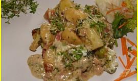 Zapečené gnocchi s brokolicí a sýrem