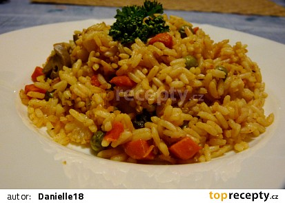 Dietní zeleninové rizoto