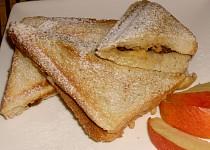Jablkové toasty