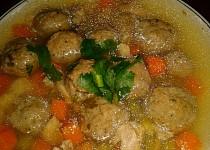 Játrovo-zázvorové knedlíčky do polévek