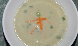 Krémová polévka z topinamburů