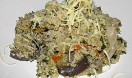 Kuskus na houbách a zelenině