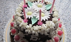 Malý patrový dortík