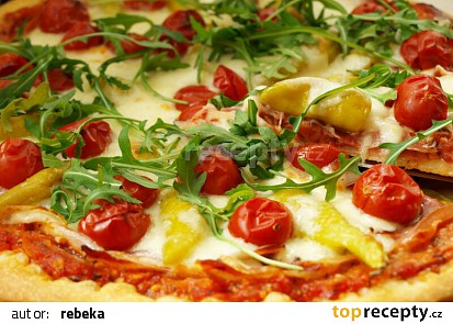 Pizza líné rebuše
