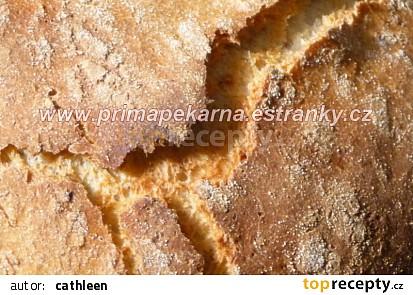 Podmáslový vločkový chleba