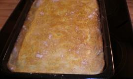 Rychlý sypaný tvarohový koláč