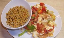 Šmakoun se zeleninou a cizrnou