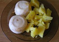 Smažený sýr v hrnečku