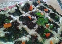 Špenátové houby za mřížemi