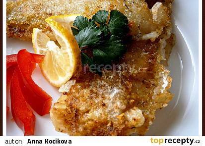 Aztécká ryba v solamylové kůrce