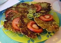 Brokolicové placičky se sýrem