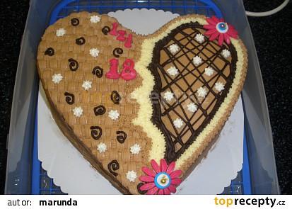 Dort srdce - vymyšlené zdobení