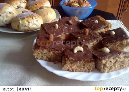 Jablkový koláč s medem