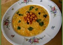 Jemná česnekovo sýrová polévka