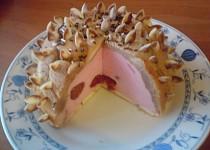 Jogurtový nepečený dortík