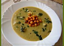Kefírový krém s brokolicí a smetanou