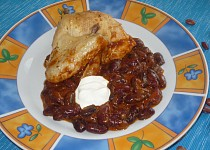 Kuře s fazolemi