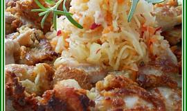Kuřecí nudličky v česnekovém těstíčku