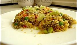 Kuskus se zeleninou a hlívou ústřičnou