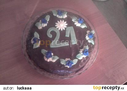 Narozeninový dort od Lucky :)