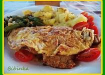 Nedělní řízky utajené v omeletách
